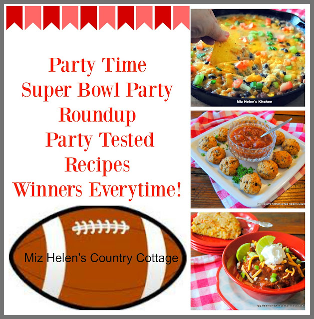 Super Bowl Party Round Up at Miz Helen's Country Cottage