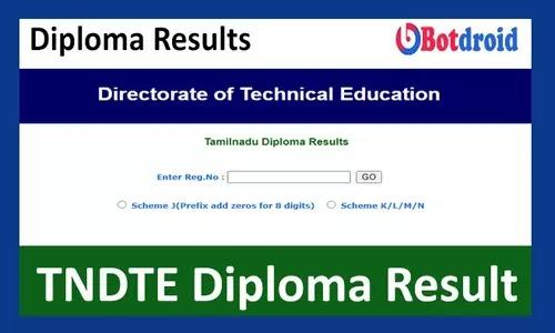 Tamilnadu Diploma Result February 2021, Check TNDTE Result