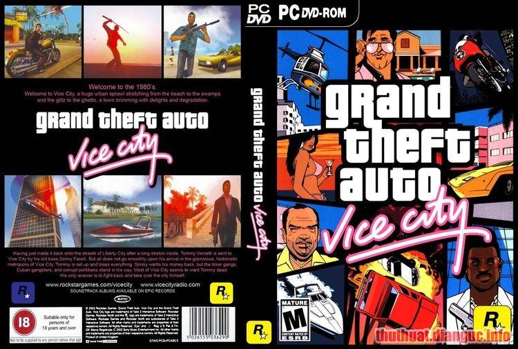 Tải game GTA vice city Việt Hoá – Game Cướp đường phố việt hóa PC