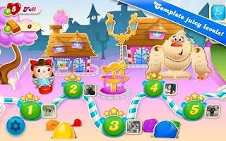Candy Crush Soda Saga v1.146.6 Hileli APK indir