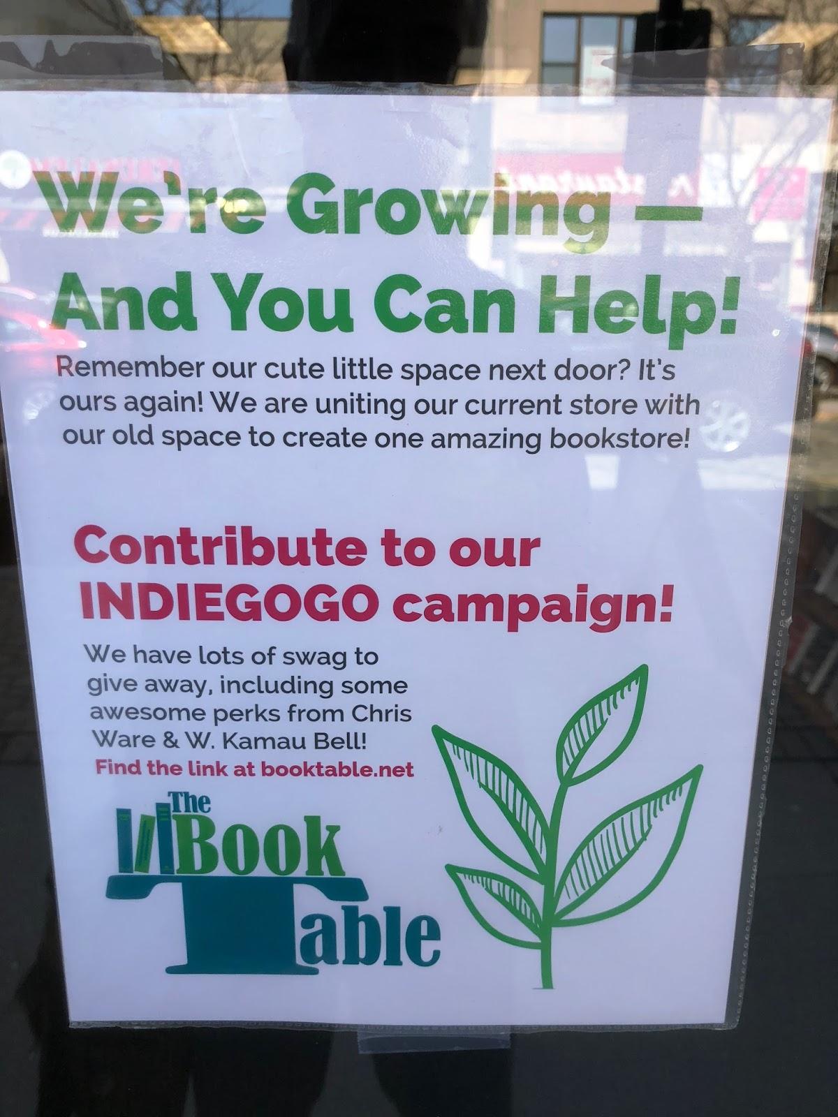 The Indie Bob Spot The Book Table Oak Park IL - Book table oak park