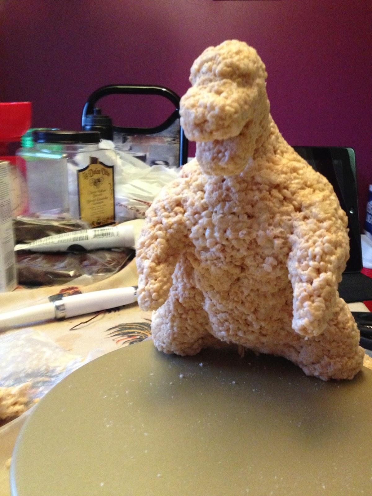Cool Godzilla Cake Recipe