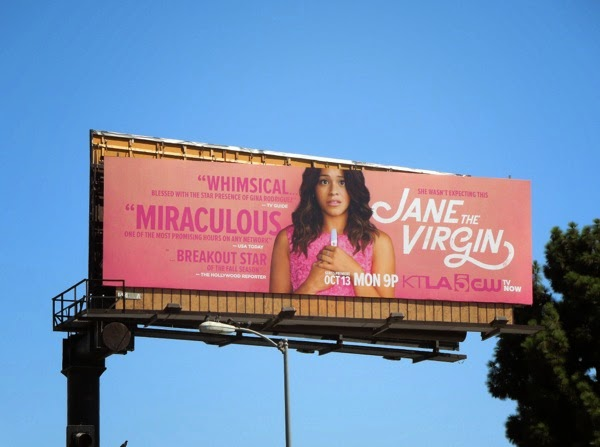 Jane The Virgin series premiere billboard