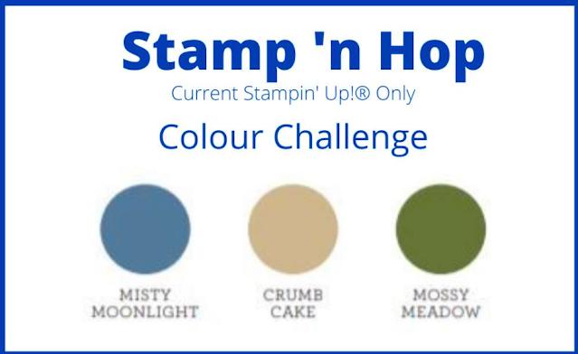 Stamp 'n Hop February Blog Hop: Colour Challenge