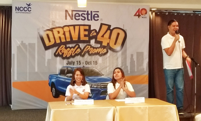 NCCC Supermarket launches Nestle Road to 40 Raffle Promo