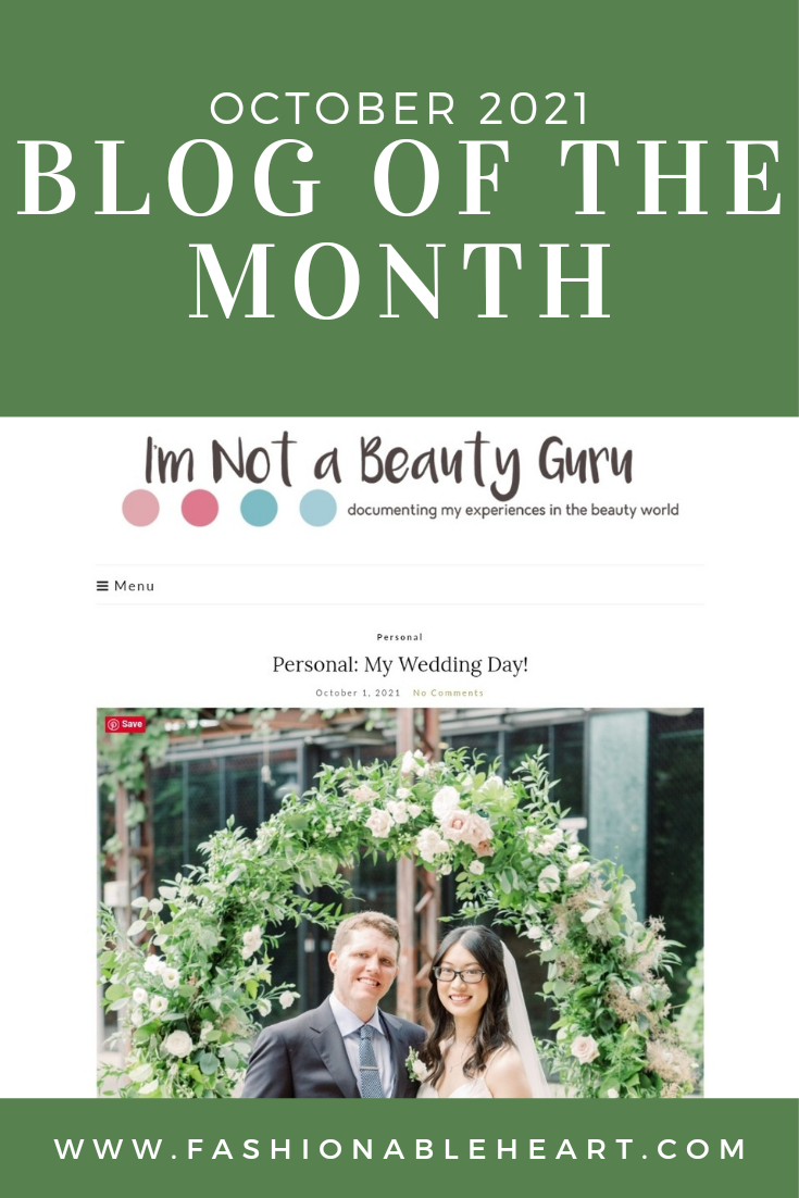 bblogger, bbloggers, bbloggersca, bbloggerca, canadian beauty bloggers, beauty blog, lifestyle blog, just married blogger,  blog of the month, featured blogger, i'm not a beauty guru