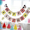 Bunting Banner HAPPY BIRTHDAY Motif Mickey Mouse