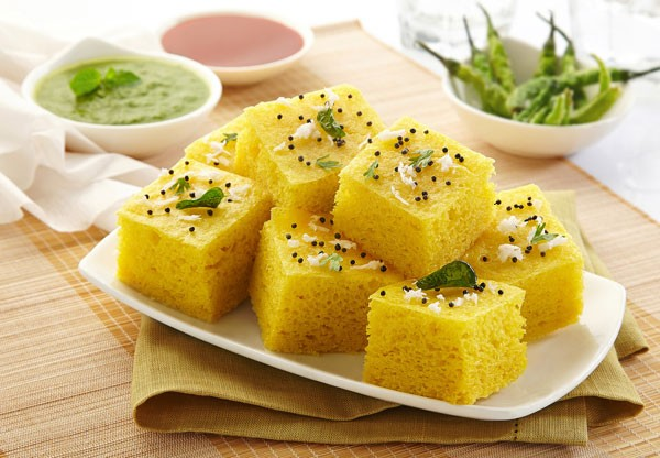 Easy delicious breakfast dhokla recipe at home