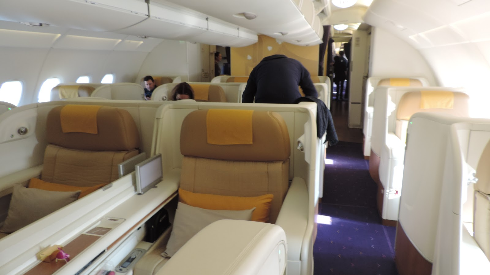 Avis du vol Thai Airways Paris → Bangkok en Affaires Flight Report