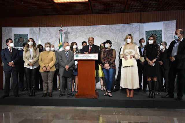 Como miles de familias mexicanas, no queremos que ningún agresor llegue al poder: PRI