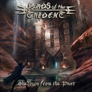 "Ακούστε το τραγούδι των Lords of the Trident  ""Death Dealer"" από το album ""Shadows from the Past"""