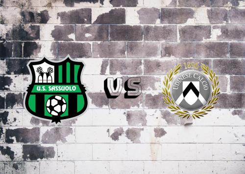 Sassuolo vs Udinese  Resumen