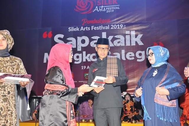 Silek Arts Festival 2019 Resmi Digelar di Taman Budaya Padang