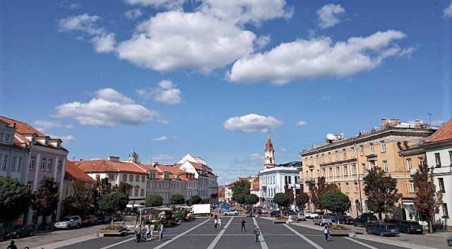 piazza del municipio a vilnius