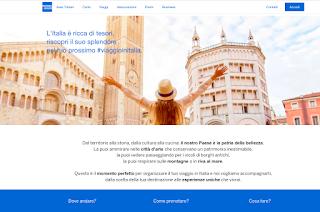 """American Express lancia """"Viaggio in Italia"""""""