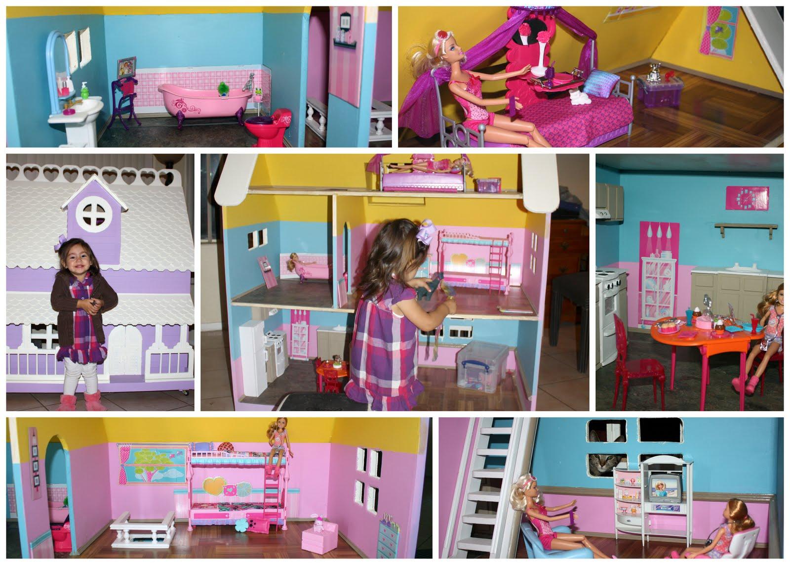 Modistamodesta Large Barbie Doll House For Sale