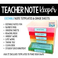 https://www.teacherspayteachers.com/Product/Teacher-Notes-and-Forms-Note-Keeper-3942209