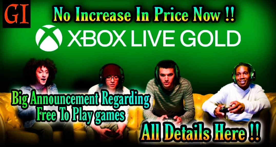 xbox live gold prices