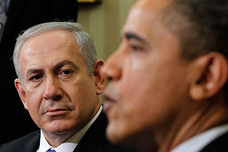 Picture of Netanyahu and Obama