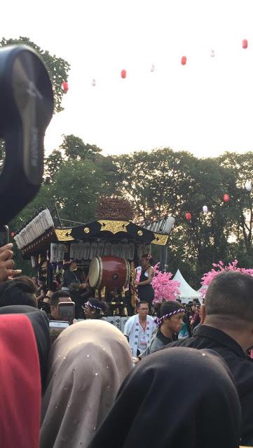 Arak-Arakah Gendang Khas Jepang di Jak Japan Matsuri 2019
