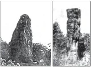 Menhir, salah satu bangunan megalitik
