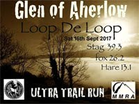 Trail Ultra, marathon & half in the Glen of Aherlow, Tipperary...Sat 16th Sept 2017
