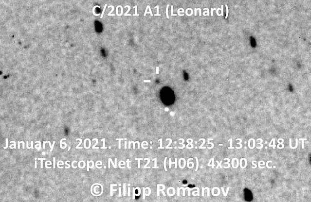 Cometa C 2021 A1 Leonard - Filipp Romanov