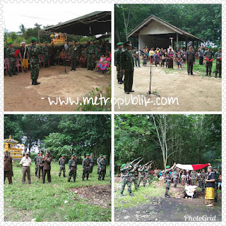 Kodim 0411 Gelar Upacara Militer Pemakaman Veteran
