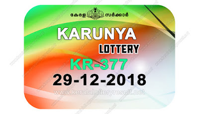 KeralaLotteryResult.net, kerala lottery kl result, yesterday lottery results, lotteries results, keralalotteries, kerala lottery, keralalotteryresult, kerala lottery result, kerala lottery result live, kerala lottery today, kerala lottery result today, kerala lottery results today, today kerala lottery result, karunya lottery results, kerala lottery result today karunya, karunya lottery result, kerala lottery result karunya today, kerala lottery karunya today result, karunya kerala lottery result, live karunya lottery KR-377, kerala lottery result 29.12.2018 karunya KR 377 29 december 2018 result, 29 12 2018, kerala lottery result 29-12-2018, karunya lottery KR 377 results 29-12-2018, 29/12/2018 kerala lottery today result karunya, 29/12/2018 karunya lottery KR-377, karunya 29.12.2018, 29.12.2018 lottery results, kerala lottery result December 29 2018, kerala lottery results 29th December 2018, 29.12.2018 week KR-377 lottery result, 29.12.2018 karunya KR-377 Lottery Result, 29-12-2018 kerala lottery results, 29-12-2018 kerala state lottery result, 29-12-2018 KR-377, Kerala karunya Lottery Result 29/12/2018