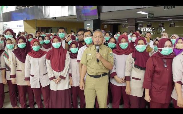 Gaji Naik Rp5 Juta, 60 Petugas RSUD Banten Pilih Resign Takut Kena Corona