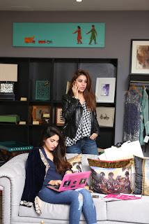 Sania Ali and Alyzeh Rahim Shirazi fashion Designer from Pakistan Spicy Pics