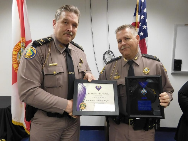 FHP Lieutenant Awarded Medal of Valor In Brevard County Teen Shooting