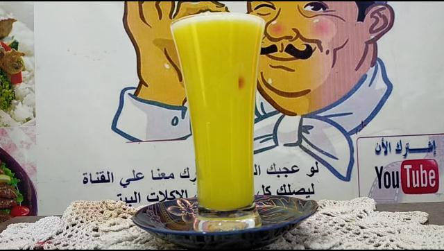 طريقة عمل عصير قرع عسل بالليمون و البرتقال فيتامين سي طبيعي الشيف محمد الدخميسي