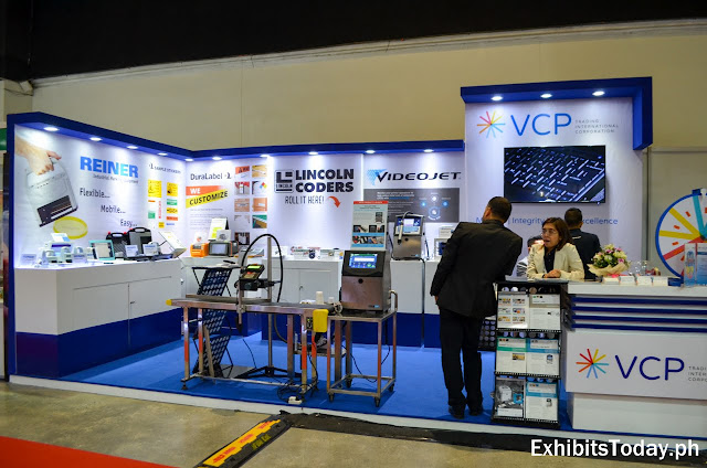 VCP Exhibit booth