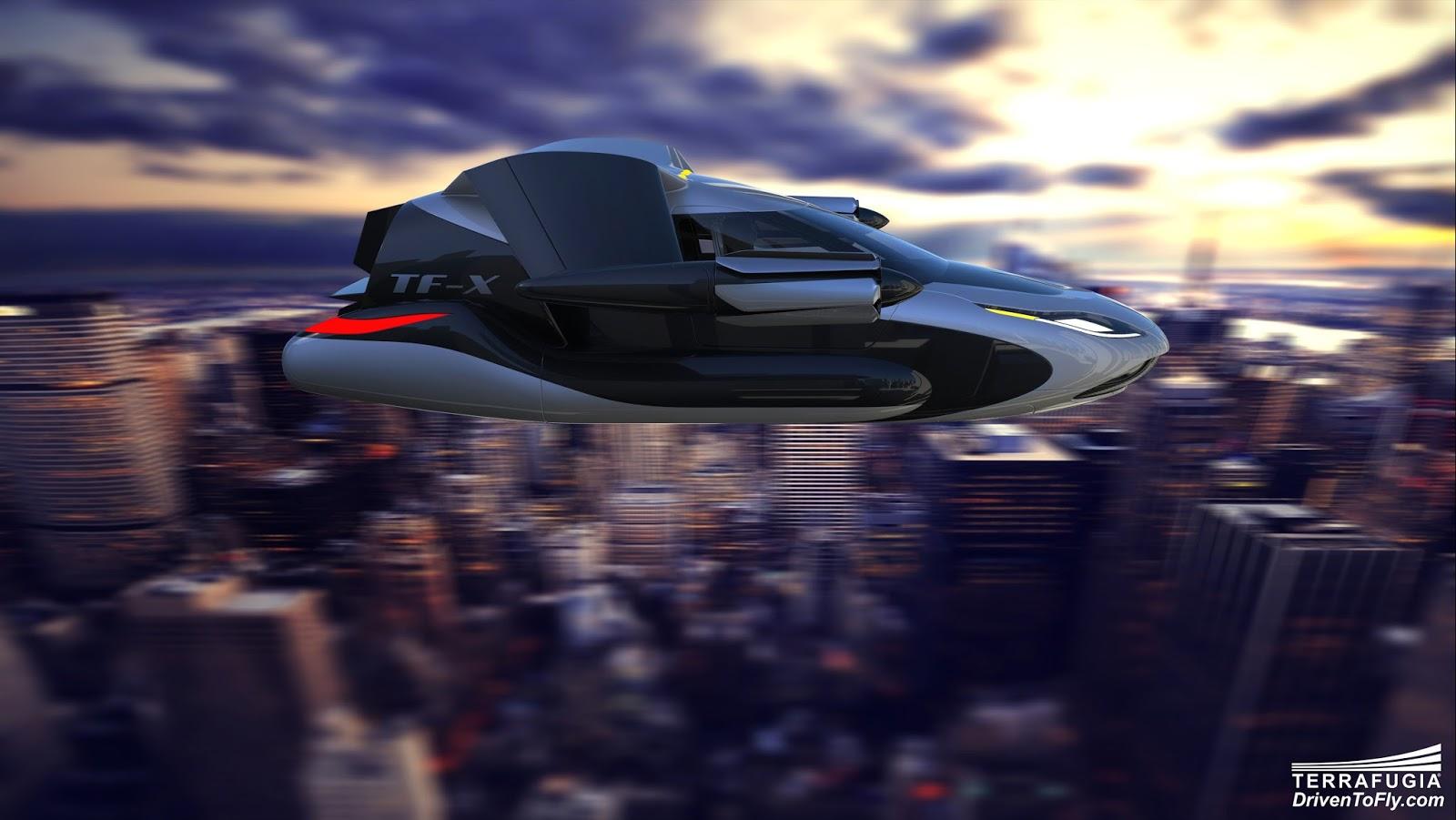 terrafugia tf Είναι το μέλλον της αστικής μετακίνησης στον αέρα; Terrafugia, Terrafugia TF-X ™, Terrafugia Transition, videos
