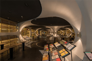 Green Pear Diaries, interiorismo, Librería Zhongshuge, Yangzhou, China