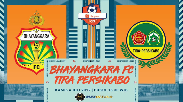 Prediksi Bhayangkara FC vs TIRA-Persikabo, Kamis 04 Juli 2019 Pukul 18.30 WIB @ OChannel