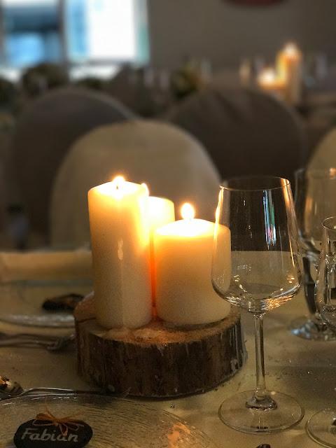 Kerzenschein, Hochzeit in Gelb, Sommer, Sonne, Natur, Sommerhochzeit am See in den Bergen, Riessersee Hotel Garmisch-Partenkirchen, Hochzeitsplanerin Uschi Glas