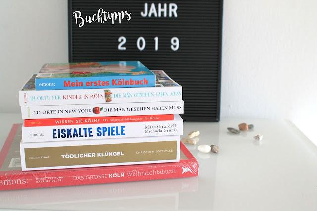 Buchtipps im neuen Jahr 2019 Krimi Reiseliteratur Koeln New York Jules kleines Freudenhaus