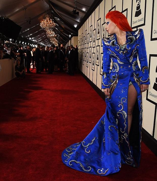 O tapete vermelho do Grammy 2016