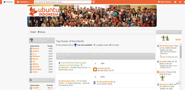 Forum Komunitas Ubuntu Indonesia