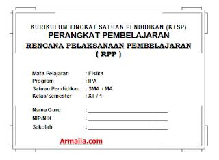 Download RPP KTSP Fisika Kelas XII SMA