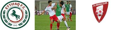 توقيت مباراة الوحدة والاتفاق في الدوري السعودي اليوم الجمعة 1-1-2021 والقنوات الناقلة