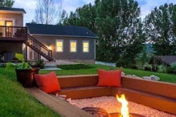 #15+ #Wonderful #Backyard #Fire #Pit #Design #Ideas #For #Comfortable #Relaxing #Space