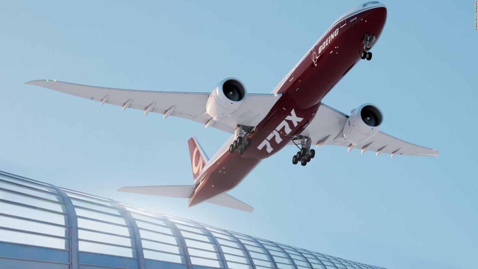 World's biggest twin 777x