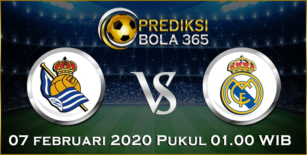 Prediksi Skor Bola Real Madrid vs Real Sociedad 07 February 2020