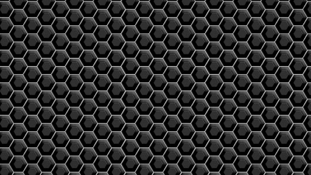 Metallic black hexagons, 1920x1080 HD Wallpaper and FREE Stock Photo