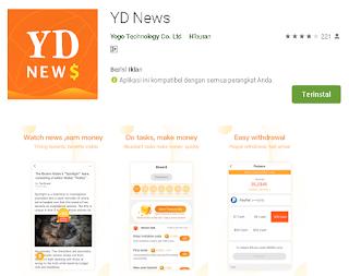 Cara Auto Claim ( NUYUL) Aplikasi YD News Di Termux Android