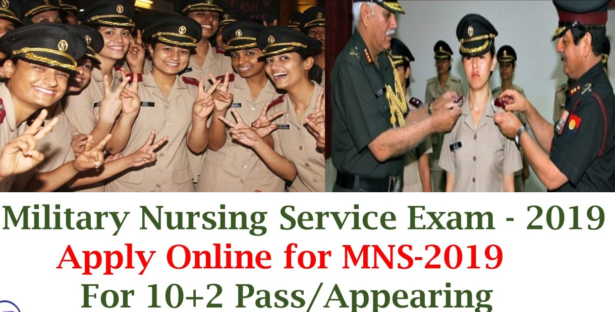 India army MNS Nursing Assistant and B.Sc