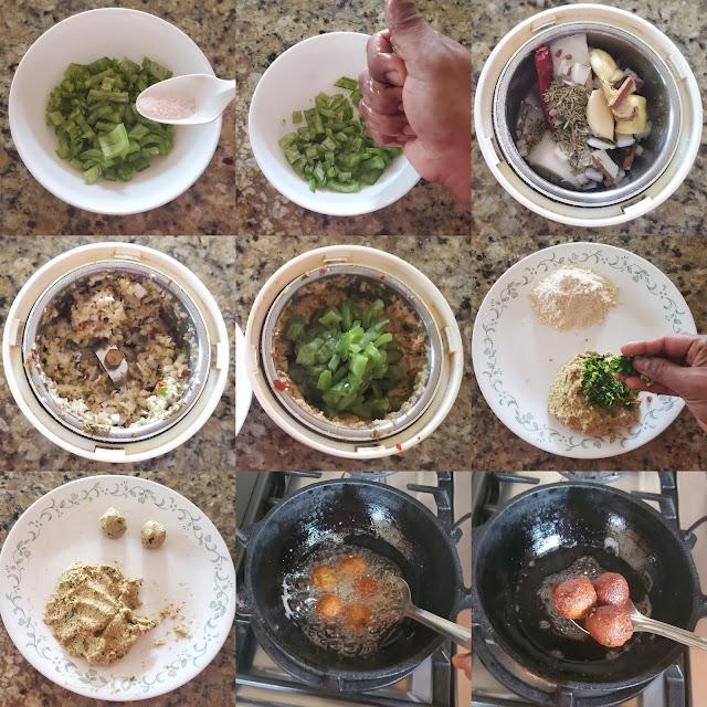 images of Chettinad Pudalangai Kola Urundai / Podalangai Kola Urundai / Snake Gourd Kola Urundai